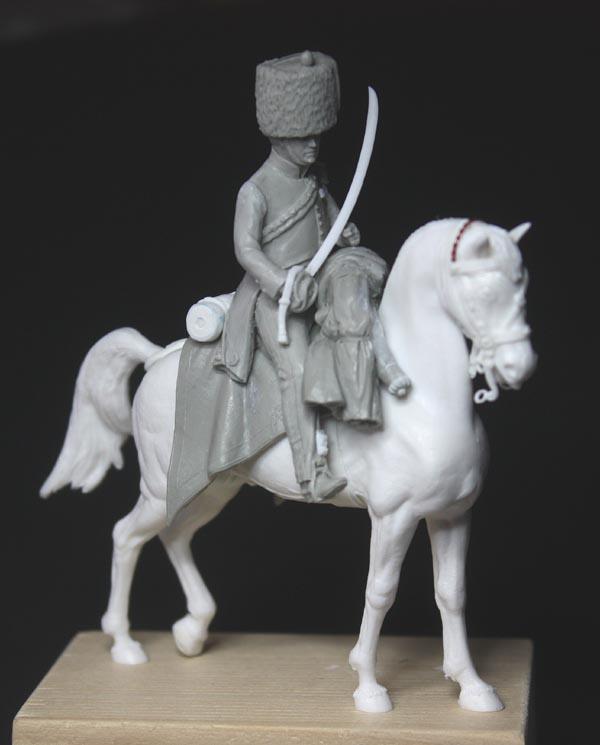 Chasseurs à cheval en grand' garde Grand-17