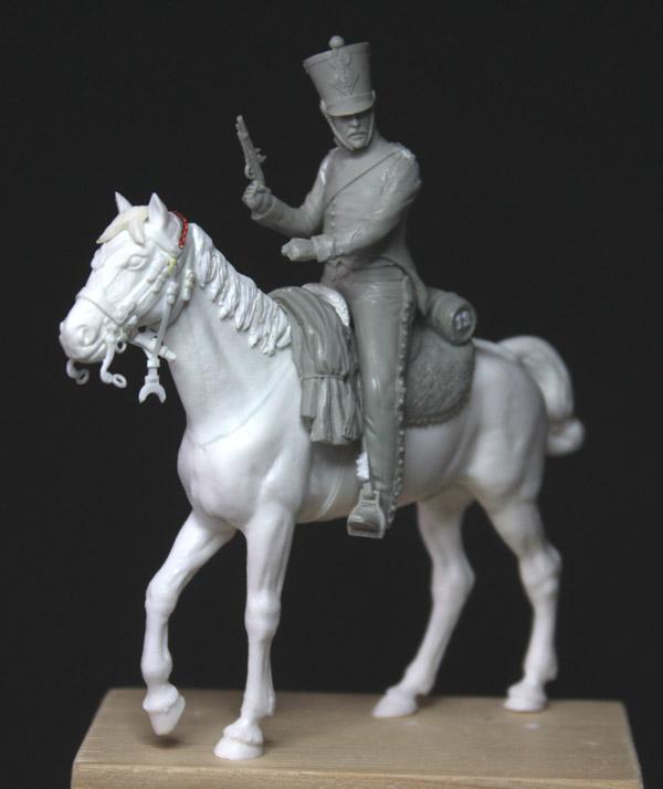Chasseurs à cheval en grand' garde Grand-21