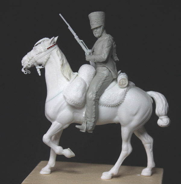 Chasseurs à cheval en grand' garde Grand-23