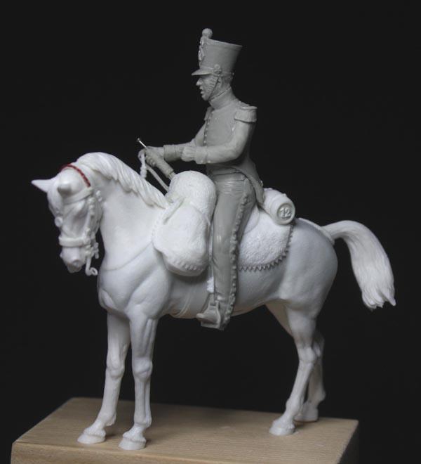 Chasseurs à cheval en grand' garde Grand-26