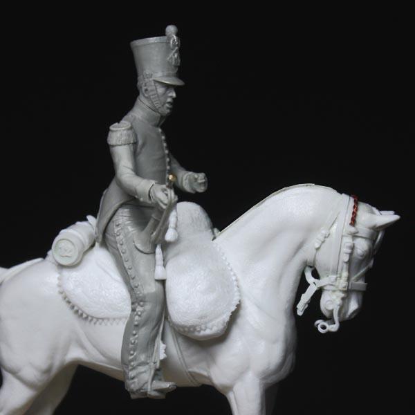 Chasseurs à cheval en grand' garde Grand-27