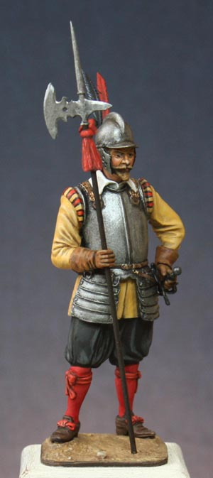 Hallebardier impérial, Guerre de Trente ans. Halleb12