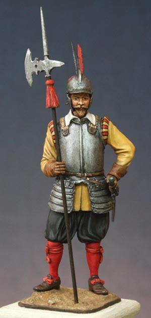 Hallebardier impérial, Guerre de Trente ans. Halleb13