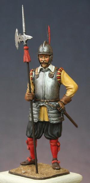 Hallebardier impérial, Guerre de Trente ans. Halleb15