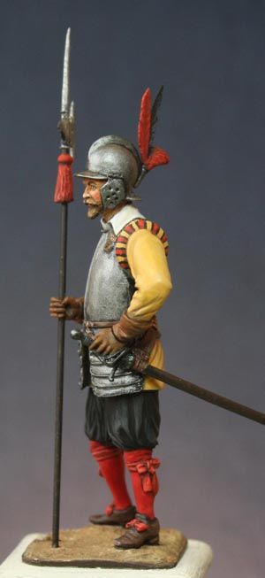 Hallebardier impérial, Guerre de Trente ans. Halleb16