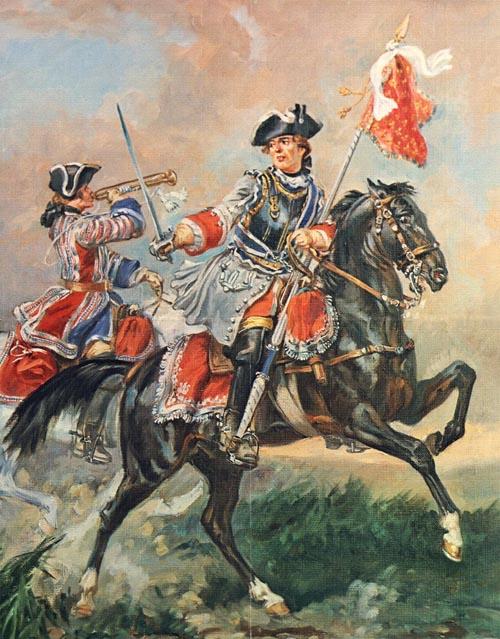 Porte étendard (Poste militaire) Orlean10