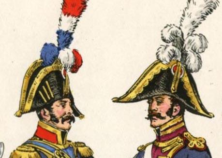 Le colonel Despans-Cubières à Hougoumont (mise en peinture) Rousse10