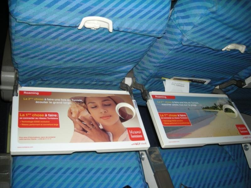 Publicité à bord des avions: TUNISIANA Bojcts10