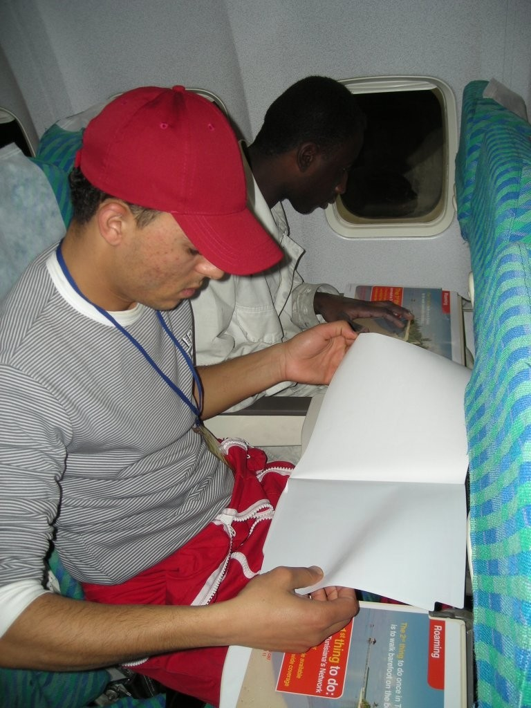 Publicité à bord des avions: TUNISIANA Q154qy10
