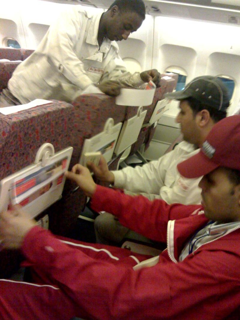 Publicité à bord des avions: TUNISIANA Xlarar10