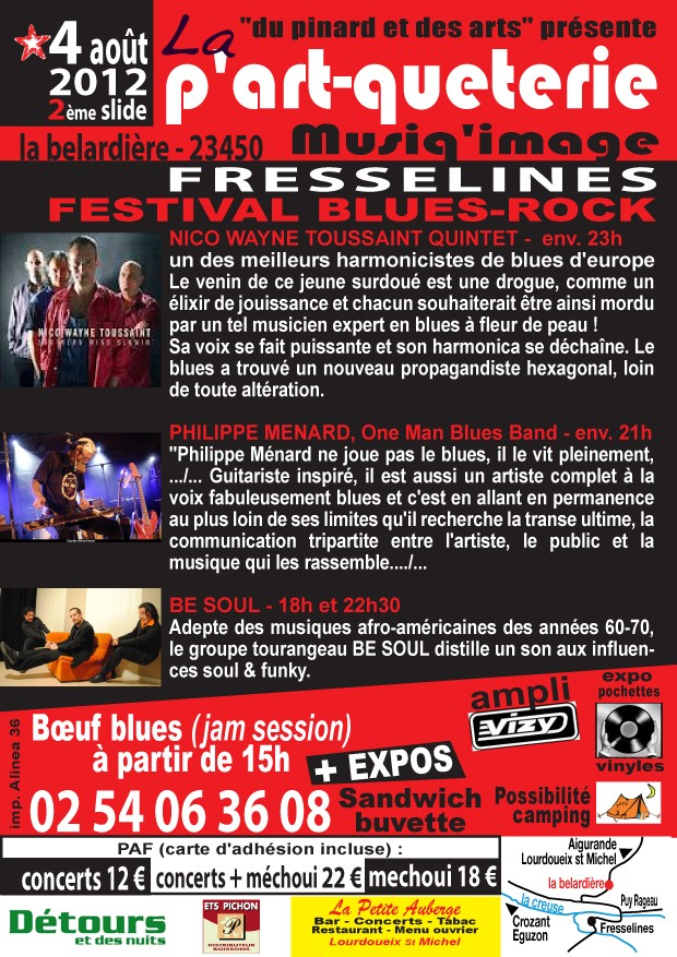Festival blues-rock à Fresselines (Creuse) le 04/08/2012 Flyers10