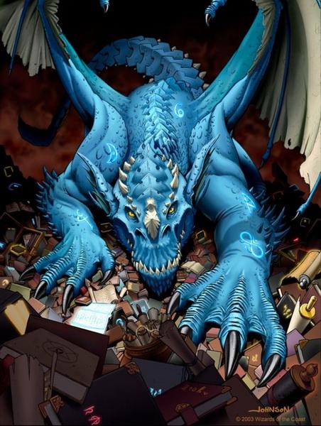 [Campagne D&D3.5 / Krugger] PNJ Ennemis - présentations Dragon10