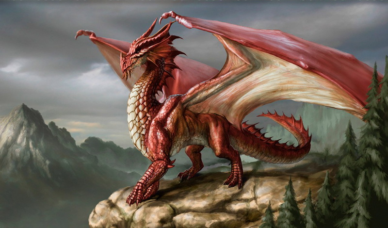 [Campagne D&D3.5 / Krugger] PNJ Ennemis - présentations Dragon12
