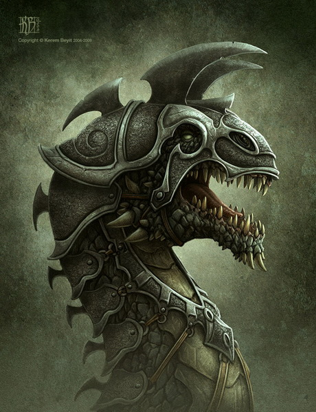[Campagne D&D3.5 / Krugger] PNJ Ennemis - présentations Dragon13