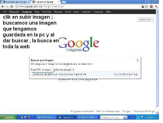 Buscar por imagen en google en lugar de  búsqueda por texto 311