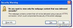 ¿Desea ver el contenido de la pagina web que se entrego de forma segura? Ie810