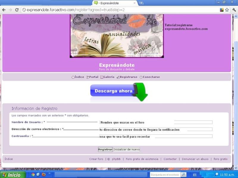 como registrarse Regis210