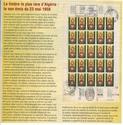 le timbre le plus rare d'ALGERIE 11110