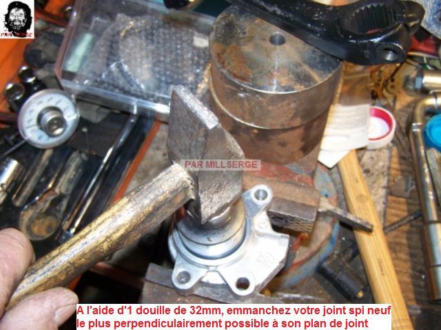 RESTAURATION D'UN BOITIER DE DIRECTION  pour W 201 2011
