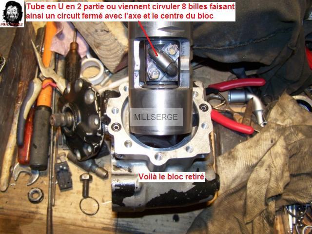 RESTAURATION D'UN BOITIER DE DIRECTION  pour W 201 5710