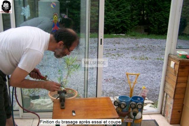 FABRICATION OUTIL DE CENTRAGE ET DE BLOCAGE POUR BOITIER DE DIRECTION 8710