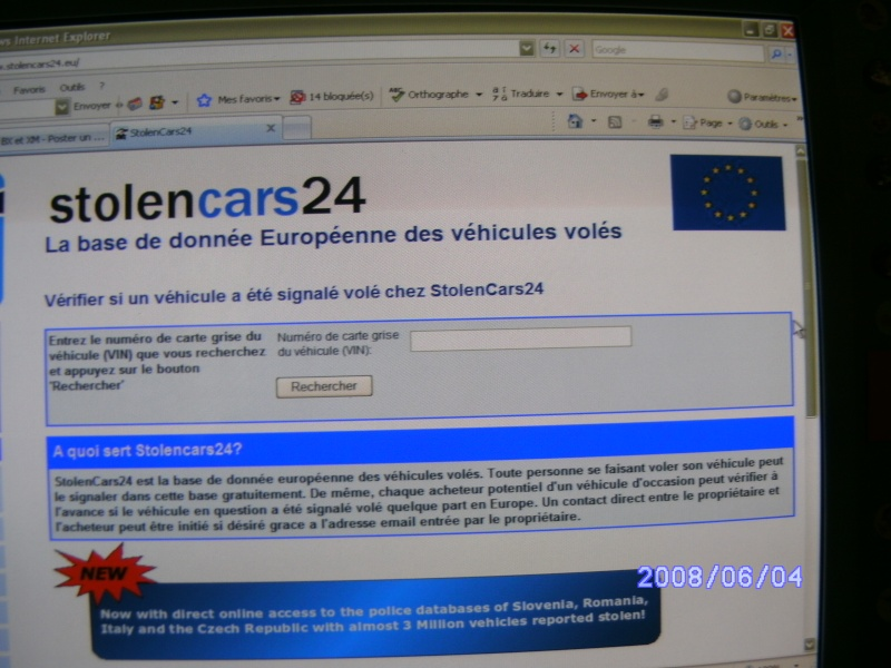 Verification volée ou pas Bx_mi127