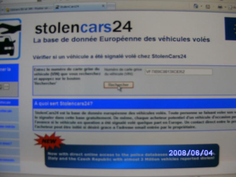 Verification volée ou pas Bx_mi129