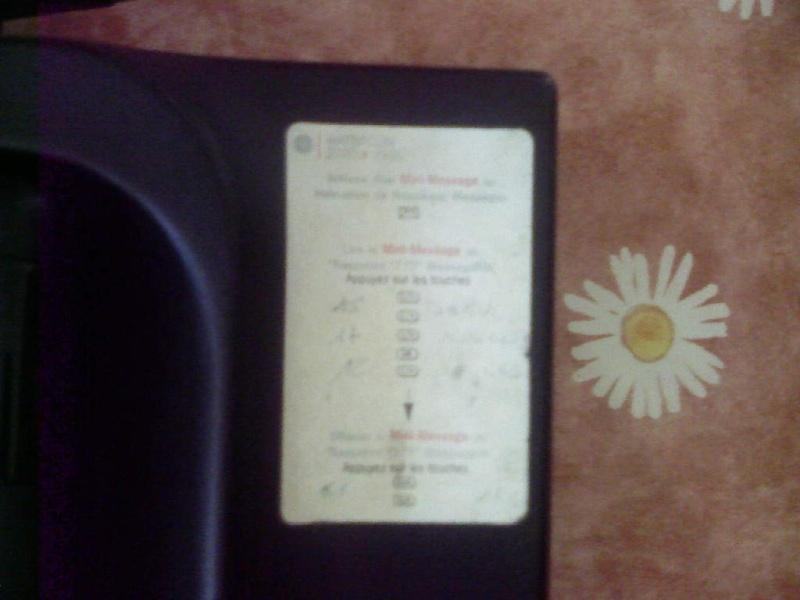 Téléphone Matra portatif Photo348