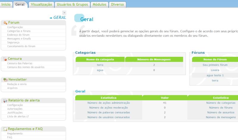 Novo painel de controle: funções revisitadas e widgets no fórum!!! Firesh14