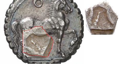 Trozo de doble shekel cartaginés Doble_10