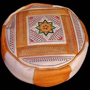 L'art marocain Pouf10