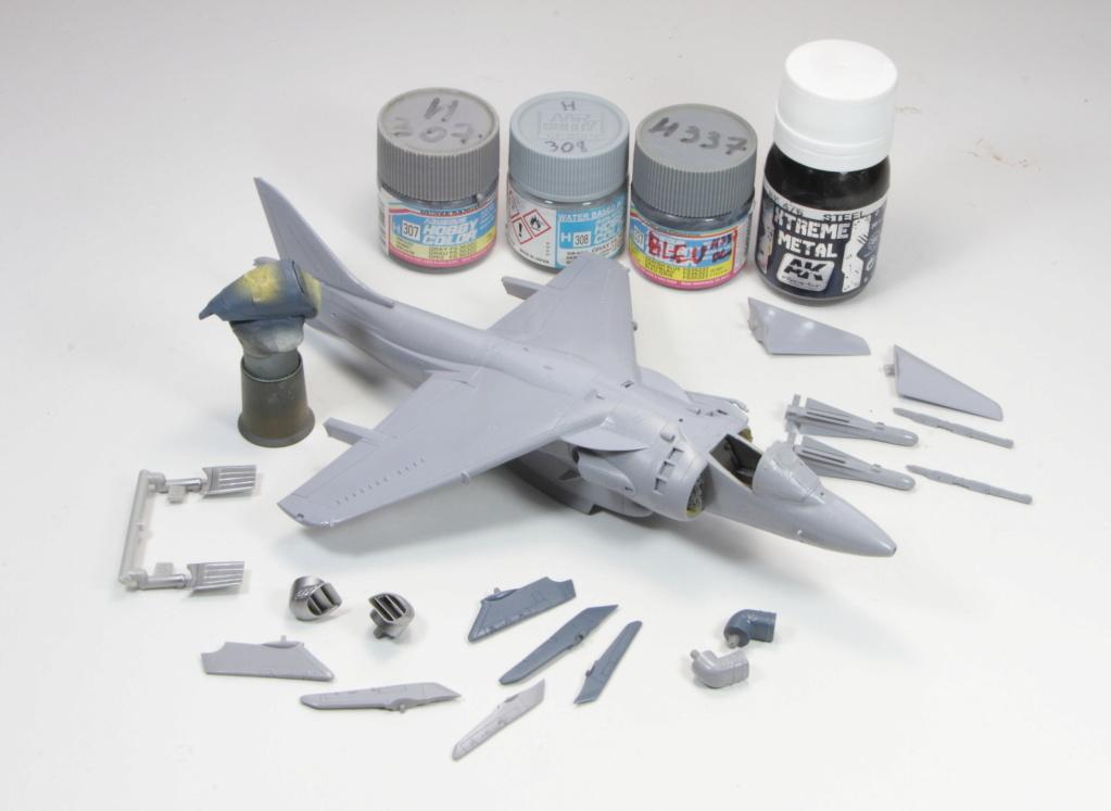 AV8B HarrierII Hasegawa 1/72 finex 00140