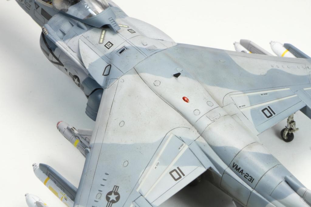 AV8B HarrierII Hasegawa 1/72 Desert Storm 02412