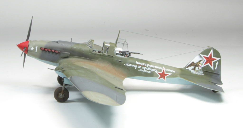 Il-2M3 Tamiya 72 finex on range 2815