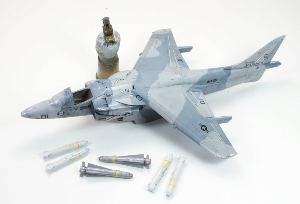 AV8B HarrierII Hasegawa 1/72 finex 3013