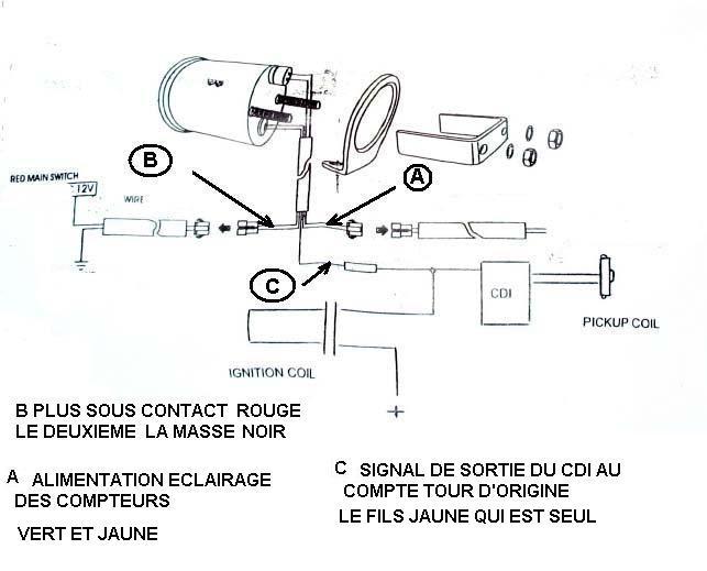 schéma électrique du compte tours Schema11