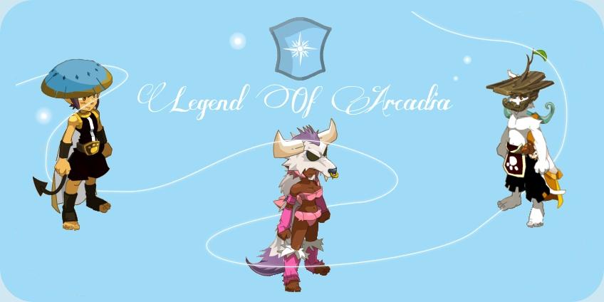 Bienvenue sur Legend Of Arcadia - Guilde Dofus Bannv211