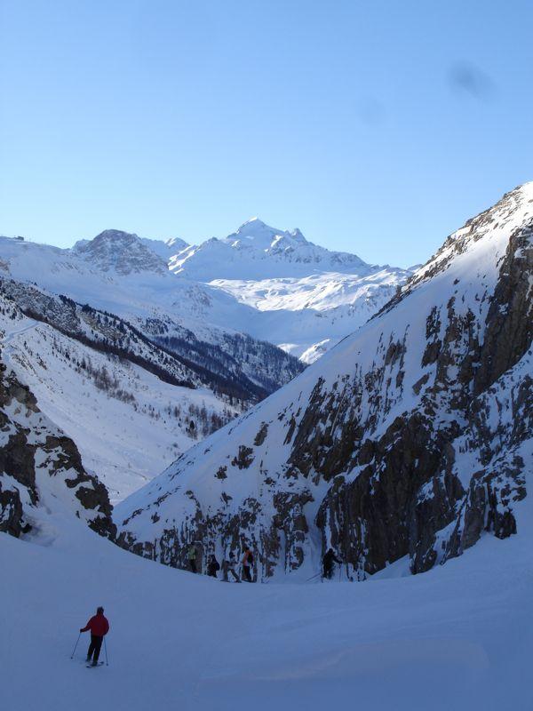 Val d'isère : Les gorges de Malpasset Dsc03827
