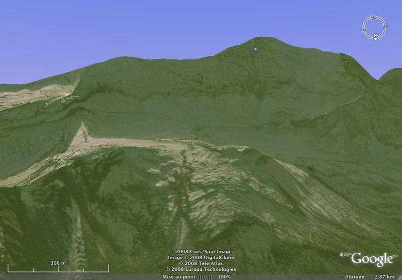 Vues de la Haute-Tarentaise par Google Earth Grande11