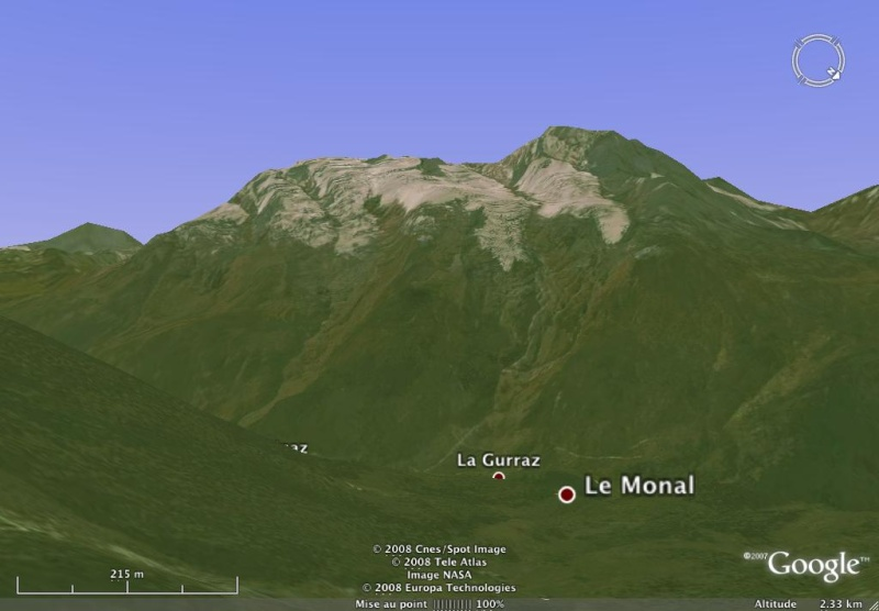 Vues de la Haute-Tarentaise par Google Earth Pourri10