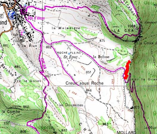 Bas-Bugey, Chartreuse, Vif - retour au pays Innimo12