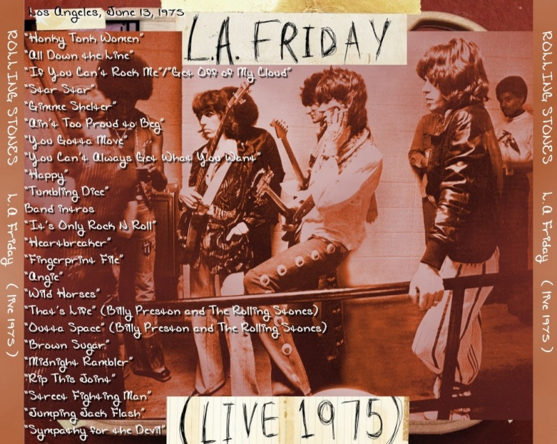 LA Friday (Live 1975) [Stones archive] Backco14