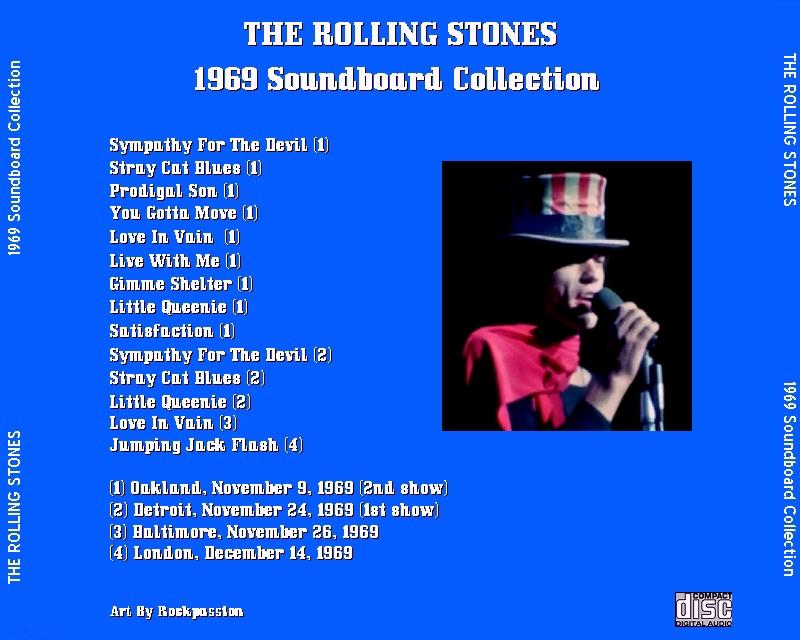 Quels sont les concerts soundboard de la période Mick Taylor ? The_ro11