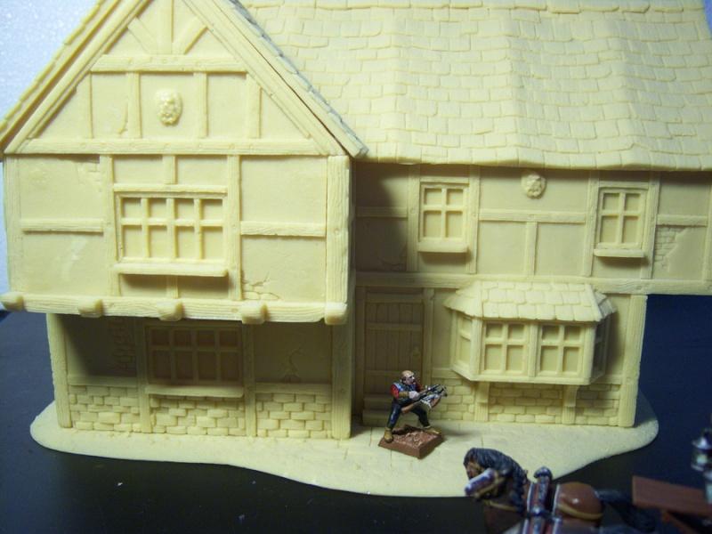 Cianty goes Urban: Medieval Buildings - Ponderings House115