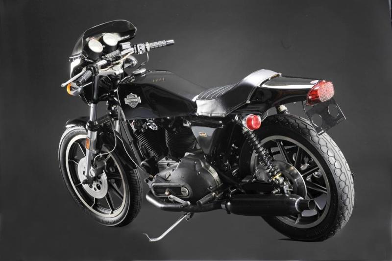 Harley-Davidson 1000 XLCR: la moto à l'état brut Harley10