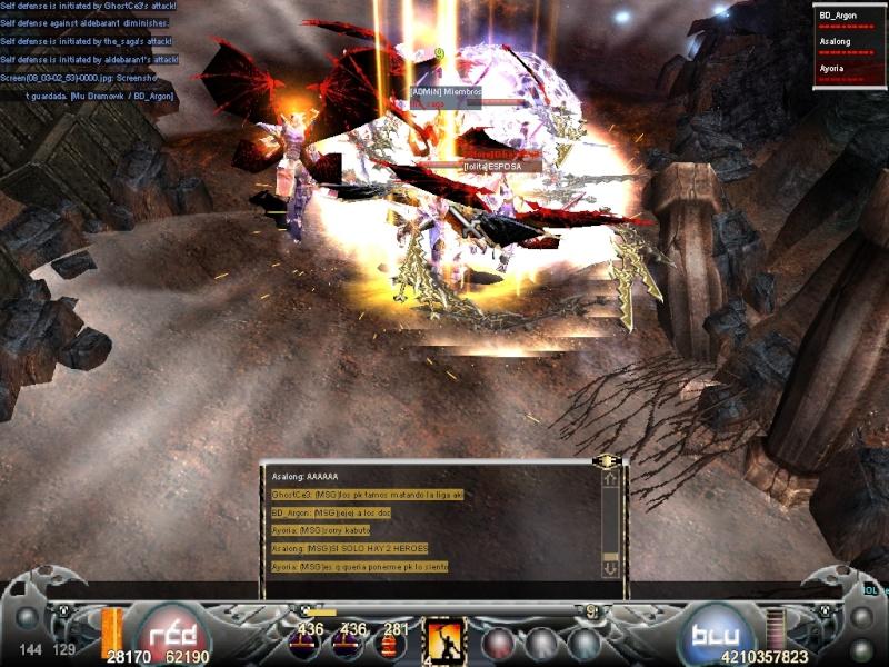 La Mejor Matanza de Mystic Mu.. Guerra de PK's vs Hero's Screen10