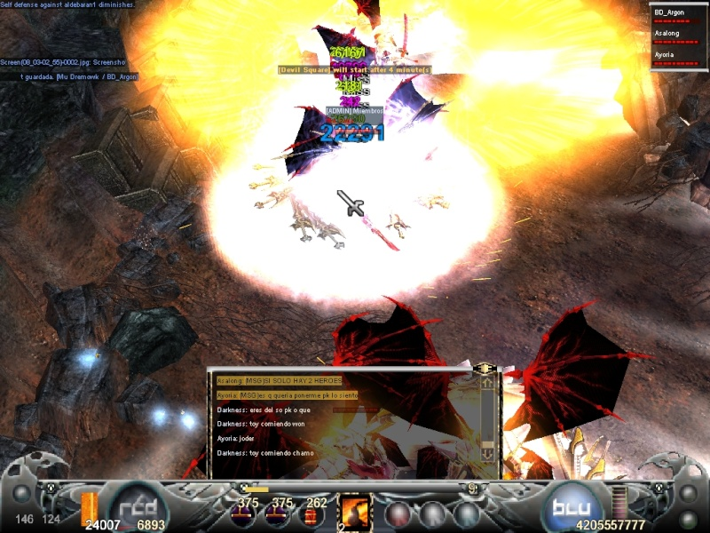 La Mejor Matanza de Mystic Mu.. Guerra de PK's vs Hero's Screen12