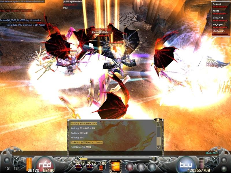 La Mejor Matanza de Mystic Mu.. Guerra de PK's vs Hero's Screen13