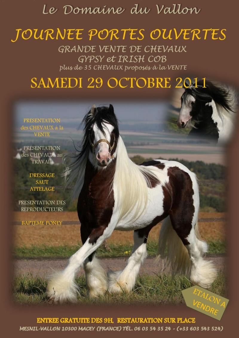 Portes ouvertes au Domaine du Vallon samedi 29 octobre 2011 Affich10