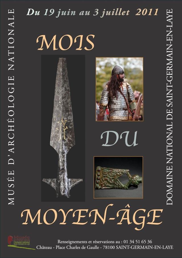 Musée d'archéologie de St-Germain-en-Laye - Juillet 2011 Affich10